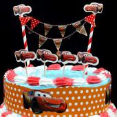 Topper Bolo aniversario Cars