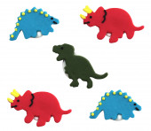 Toppers Açúcar Dinossauros 5 und