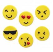 Toppers Açúcar Emojis 6 und