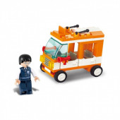 Town Mini Autocarro 72 pcs Sluban
