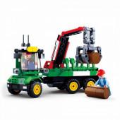 Town Trator de Recolha Florestal 209 peças Sluban