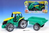 Tractor com reboque 93cm
