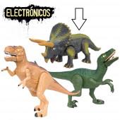 Triceratops Dinossauro Eletrónico
