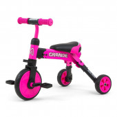 Triciclo Milly Mally Ride On - Bike 2 em1 Rosa