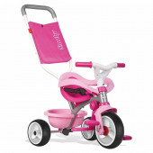 Triciclo Smoby Move Comfort Rosa Roda Soft