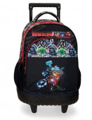 Trolley Escolar Compacto Avengers Armour Up 43cm