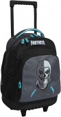 Trolley Escolar Compacto Fortnite Skull Trooper 43cm