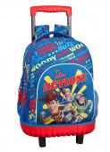Trolley Escolar Compacto Toy Story 4 Action 45cm