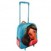 Trolley mochila 3D pré-escolar 31cm EVA Elena de Avalor