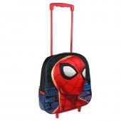 Trolley mochila 3D pré-escolar 31cm EVA -Spiderman