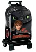 Trolley mochila 41cm - Dragons Defenders