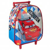 Trolley Mochila Cars Mc Queen Race 28cm