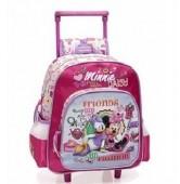 Trolley mochila DeLuxe Pré escolar Minnie Margarida Fashion