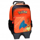 Trolley Mochila Escolar 41cm Pokémon Charizard