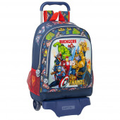 Trolley Mochila Escolar 42 cm Avengers Heroes vs Thanos