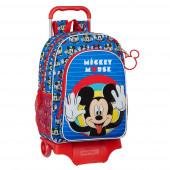 Trolley Mochila Escolar 42 cm Mickey Me Time