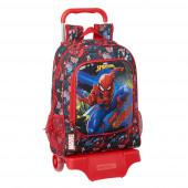 Trolley Mochila Escolar 42 cm Spiderman Go Hero