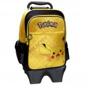 Trolley Mochila Escolar 42cm Pokémon Pikachu