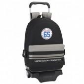 Trolley mochila escolar 43cm Benetton - 65