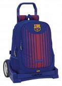 Trolley Mochila escolar 43cm Carro Evolution FC Barcelona
