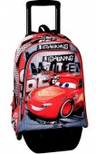 Trolley Mochila escolar 43cm Cars Disney - Fast