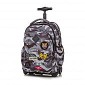 Trolley Mochila Escolar 44cm CoolPack Badges Camo Black