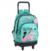 Trolley Mochila Escolar 45cm Compact Bia Color Stories Disney
