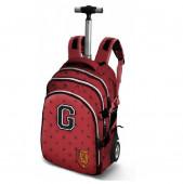 Trolley mochila escolar 48cm Harry Potter Pride Gryffindor