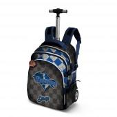 Trolley mochila escolar 48cm Harry Potter Quidditch Ravenclaw