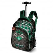 Trolley mochila escolar  48cm Harry Potter Quidditch Slytherin