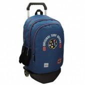 Trolley Mochila escolar Azul escuro 44cm Maui & Sons - Surf