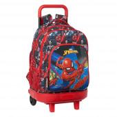 Trolley Mochila Escolar Compacto Ext 45cm Spiderman Go Hero