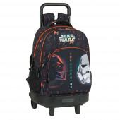 Trolley Mochila Escolar Compacto Ext 45cm Star Wars The Dark Side