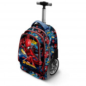 Trolley Mochila Escolar Spiderman 51cm