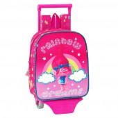 Trolley mochila pré 27 cm Trolls- Rainbow