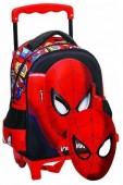 Trolley mochila pré-escolar 30cm Spiderman
