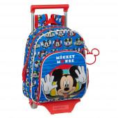 Trolley Mochila Pré Escolar 34cm Mickey Me Time