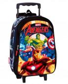 Trolley Mochila pré escolar 37cm Avengers Thunder
