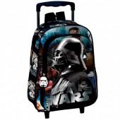 Trolley mochila pré escolar 37cm Star Wars - Lord