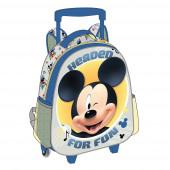 Trolley Mochila pré-escolar 3D de 31cm Mickey-Headed