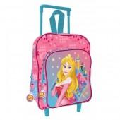 Trolley mochila pre escolar 41cm Disney Princesas