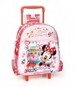 Trolley mochila pre escolar Minnie premium  Pretty Things