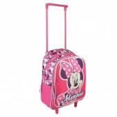 Trolley Pré Escolar Minnie Pinky Bow