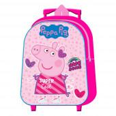 Trolley Pré Escolar Porquinha Peppa Super Cool 31cm