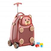 Trolley Viagem Infantil Urso
