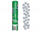 Tubo Lança Confettis Futebol 30 cm