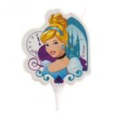 Vela 2D Cinderela Princesa Disney
