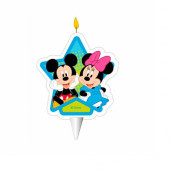 Vela 2D Mickey e Minnie