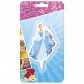 Vela aniversário 2D Princesa Cinderela