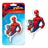 Vela aniversário 2D Spiderman - Marvel